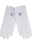 WHITE GLOVES SQUARE AND COMPASS-accessories-BIGMENSCLOTHING.CO.NZ