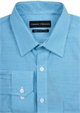TOMMY FRANKS MICRO CHECK TALL C/A L/S SHIRT-shirts-BIGMENSCLOTHING.CO.NZ
