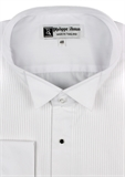 PHILLIP ANTON WING COLLAR L/S SHIRT-shirts-BIGMENSCLOTHING.CO.NZ