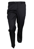 CITY CLUB POLY/WOOL FLAT FRONT TROUSER-big mens trousers-BIGMENSCLOTHING.CO.NZ