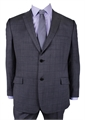 GEOFFREY BEENE CHECK SUIT-suits-BIGMENSCLOTHING.CO.NZ