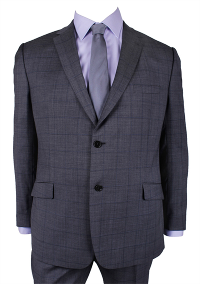 GEOFFREY BEENE CHECK SUIT