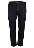BOB SPEARS BLACK STRETCH JEAN-big mens jeans-BIGMENSCLOTHING.CO.NZ