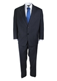 FLAIR VERTICAL STRIPE SUIT-suits-BIGMENSCLOTHING.CO.NZ